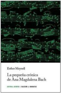 Portada libro La pequeña crónica de Ana Magdalena Bach